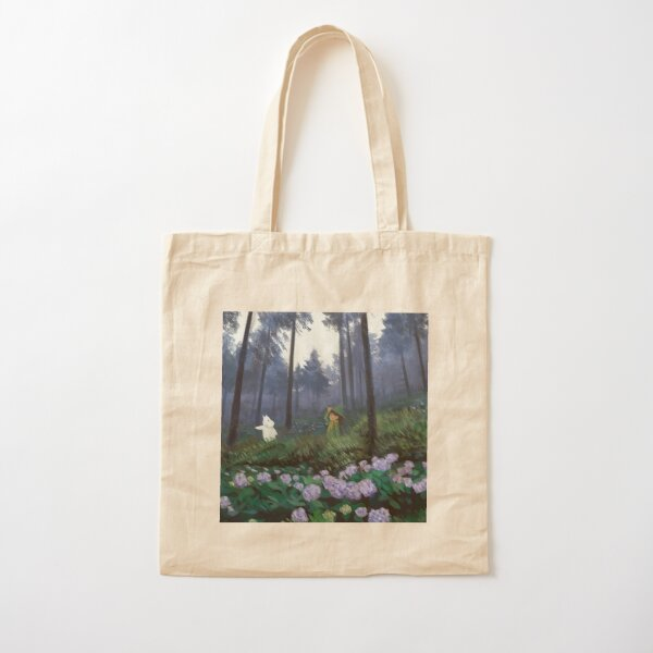 i'll be by your side Cotton Tote Bag