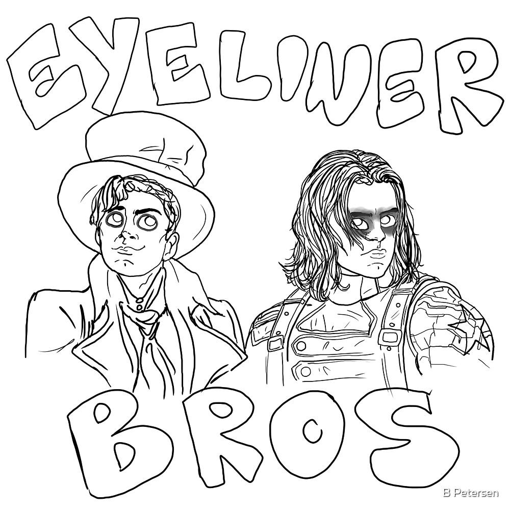 Eyeliner Bros by B Petersen