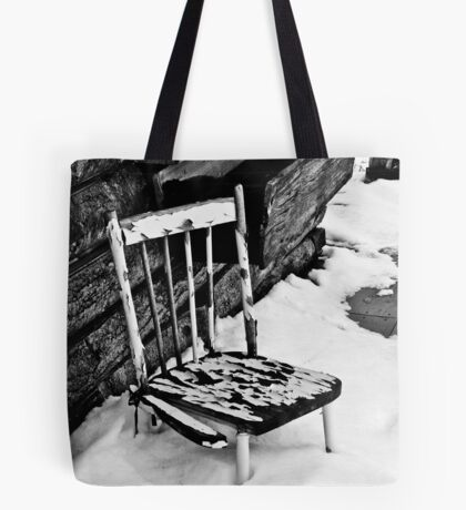 Broken Chair Tote Bag