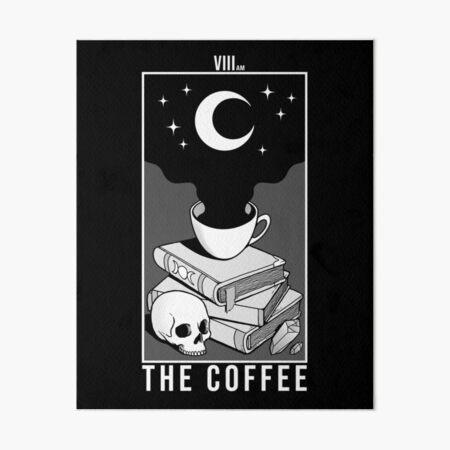 The Coffee Art Board Print