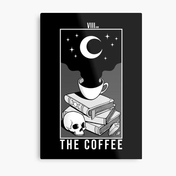 Der Kaffee Metallbild