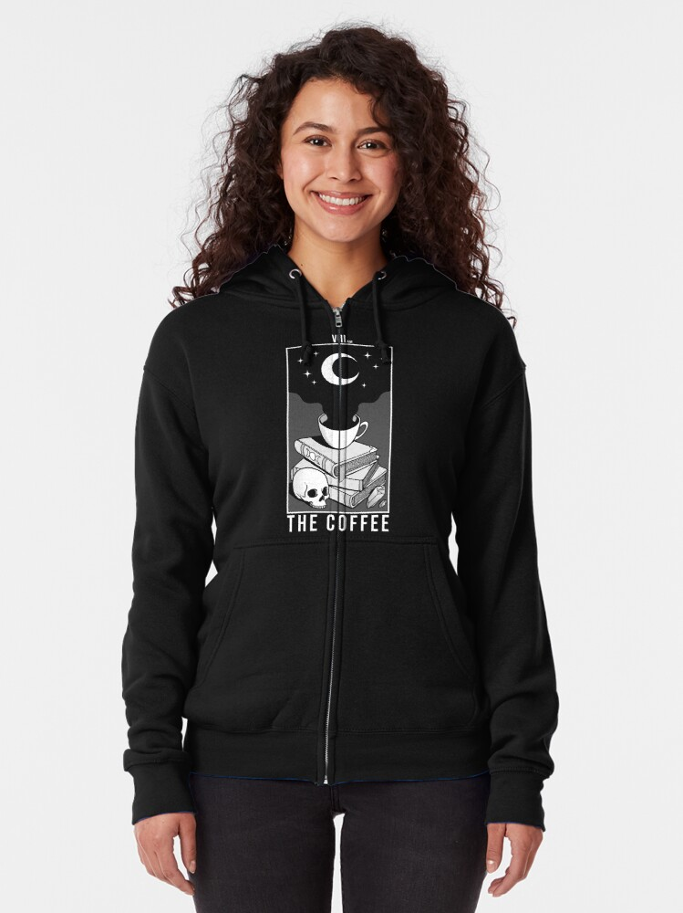 Alternate view of The Coffee Zipped Hoodie