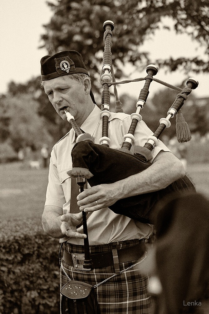 Scots are coming! by Lenka