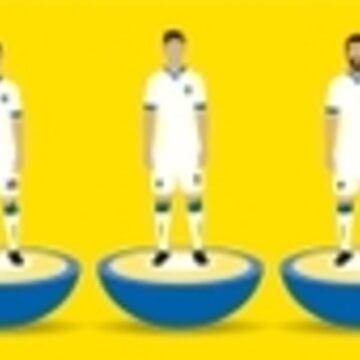 Leeds United Subbuteo by danmarsham