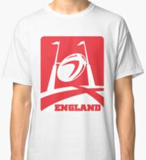 rugby ball goal post england Classic T-Shirt