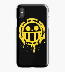 Heart pirates trafalgar law one piece iPhone Case/Skin