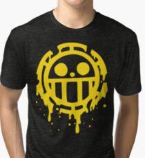 Heart pirates trafalgar law one piece Tri-blend T-Shirt