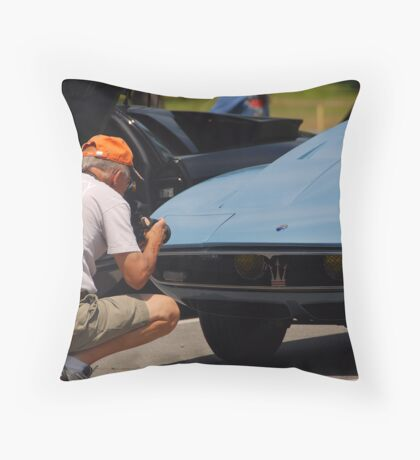 So thats how you do it! Throw Pillow