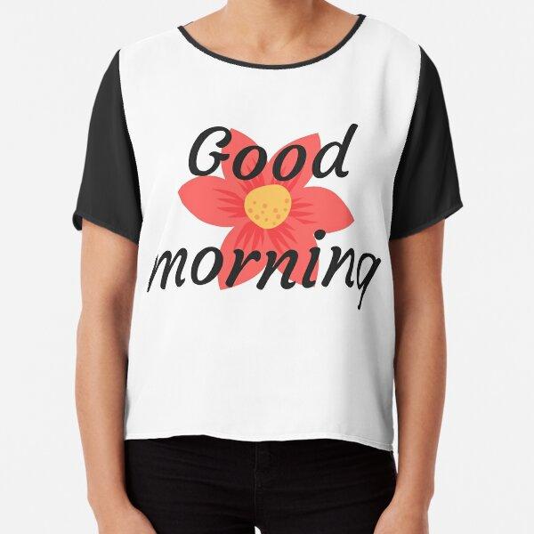 Buenos días Blusa