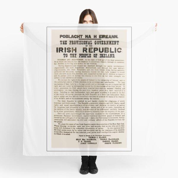 1916 Proclamation of the Irish Republic Scarf