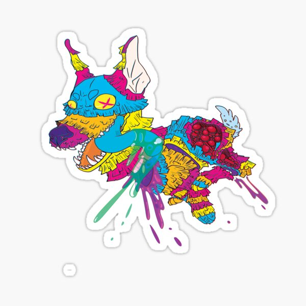 Piñata Party Sticker