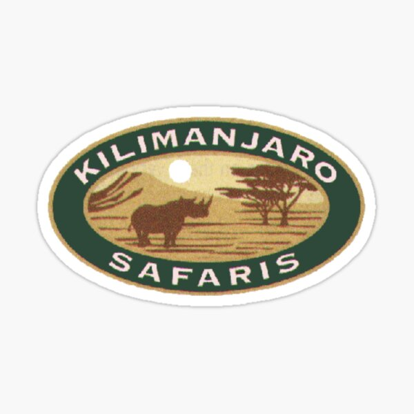 Kilimanjaro Safaris Sticker