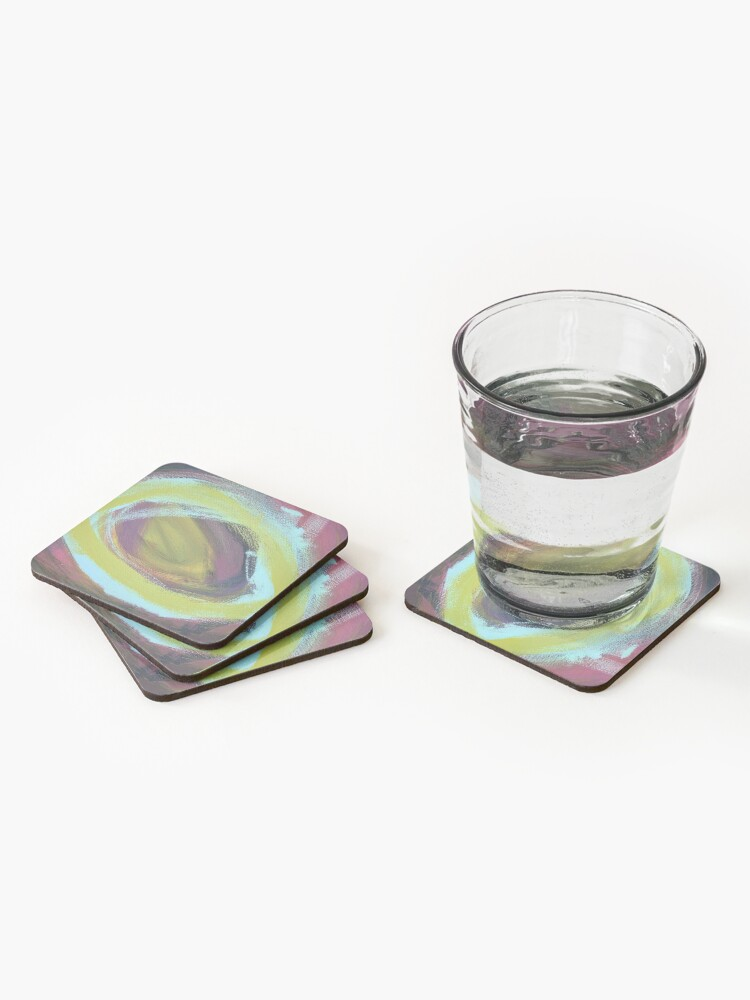 Alternate view of On a Merry go Round Coasters (Set of 4)