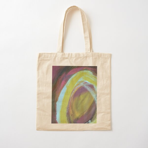 On a Merry go Round Cotton Tote Bag