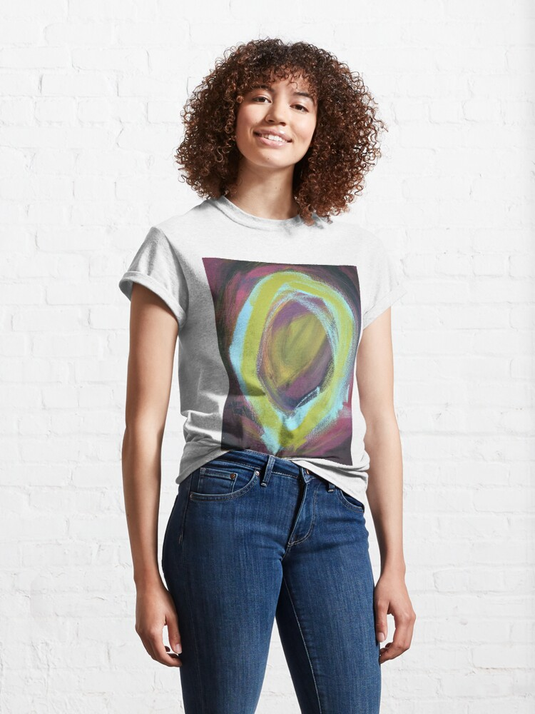 Alternate view of On a Merry go Round Classic T-Shirt