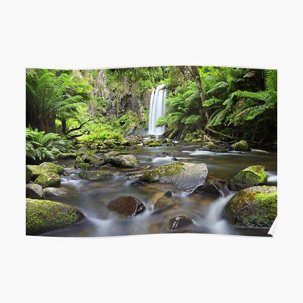 Hopetoun Falls, Otways, Great Ocean Road, Victoria, Australia Poster