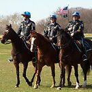 Washington DC Park Police by Eileen Brymer