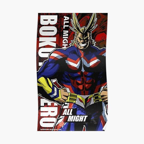 My Hero Academia - All Might Poster