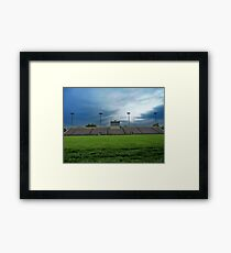 Football Stadium Framed Print