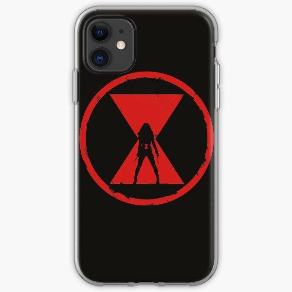 Widow Emblem iPhone Soft Case