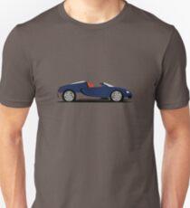 2011 Bugatti Veyron 16.4 Grand Sport Middle East Edition (Blue) T-Shirt