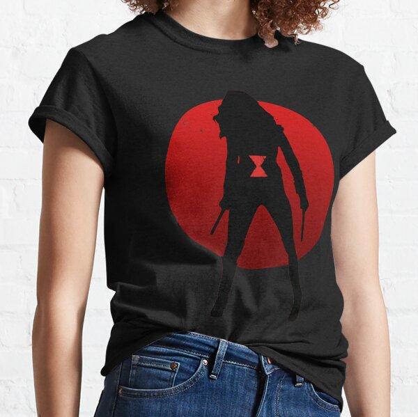 Widow Silhouette Emblem Classic T-Shirt