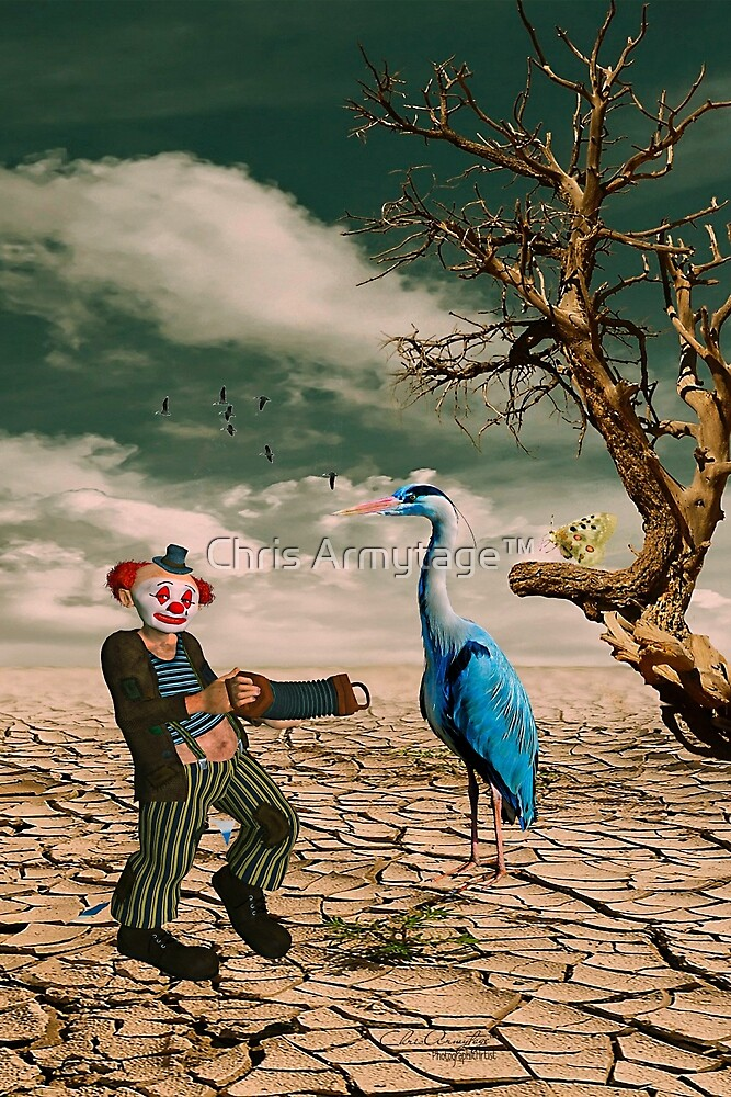 Cracked III - The Clown by Chris Armytage™