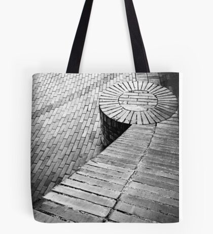 Abstract Bricks Tote Bag