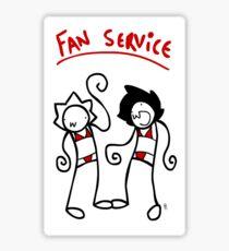 Fan Service Sticker