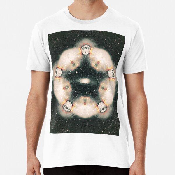 Stars and Moon Mandala Premium T-Shirt