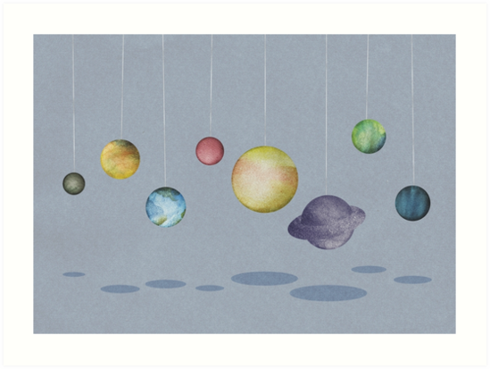 The Solar System by Arell