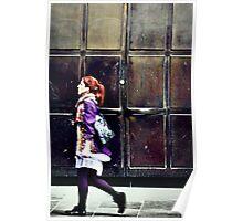 Purple Stockings... Poster