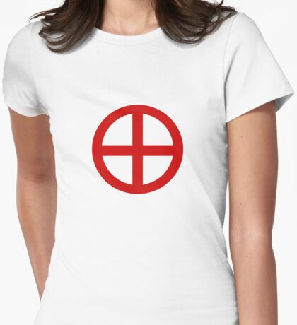 Red Point Circle T-Shirt