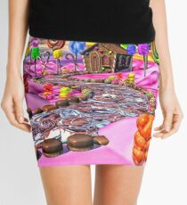 Pink Candyland Mini Skirt