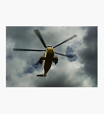 RAF rescue helicopter Photographic Print