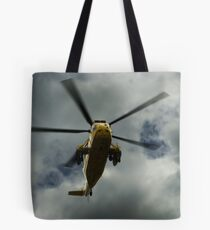 RAF rescue helicopter Tote Bag