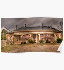 Bowenfels Station  c1869 - Lithgow NSW - The HDR Experience Poster