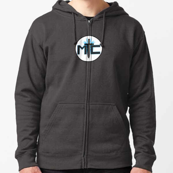 Metal Complex Logo Zipped Hoodie