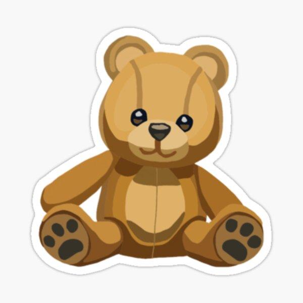 Teddy Bear Emoji Sticker