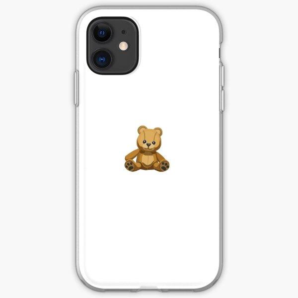 Teddy Bear Emoji iPhone Soft Case