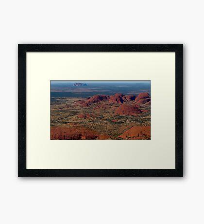 My Wide Brown Land Framed Print