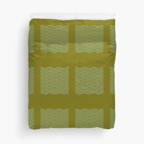 wavy lines Duvet Cover