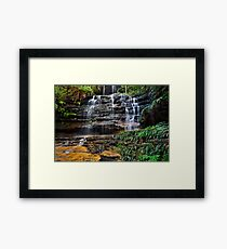 Quiet Location. Framed Print