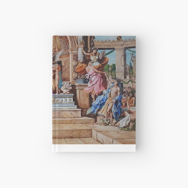 THE JUDGEMENT DAY OF APOLLO Hardcover Journal