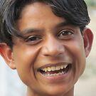 Villager boy by Prakash Gupta