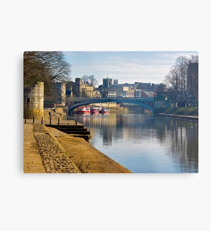 The River Ouse & Lendal Bridge - York Metal Print