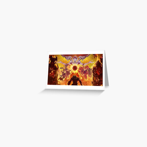 Doom Eternal Greeting Card