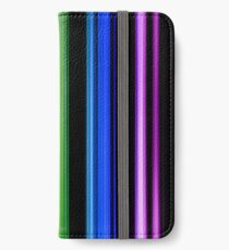 Vertical Rainbow Bars iPhone Wallet/Case/Skin