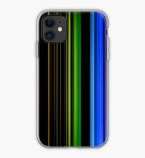 Vertical Rainbow Bars iPhone Case
