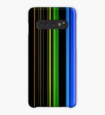 Vertical Rainbow Bars Case/Skin for Samsung Galaxy
